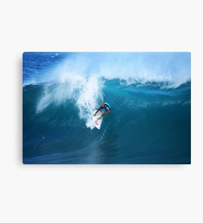 Kelly Slater Takeoff Pipeline Masters Canvas Print