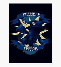 Terrible Terror! Photographic Print