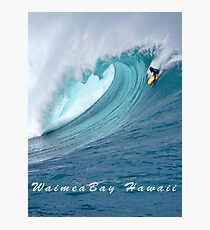 Waimea Bodyboarder T-Shirt Photographic Print