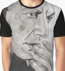 Portrait of Jeff Goldblum Graphic T-Shirt
