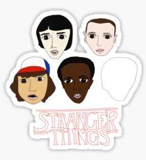 Stranger Things Crew Sticker