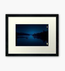 Under The Moonlight Framed Print