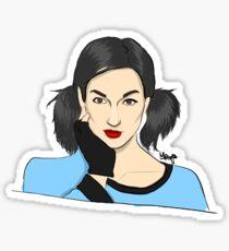 Lyn-z Way Cartoon  Sticker