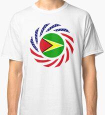 Guyanese American Multinational Patriot Flag  Classic T-Shirt