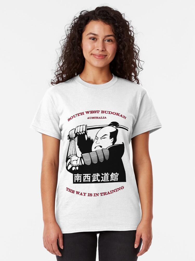Alternate view of South West Budokan Tee Australia. Classic T-Shirt
