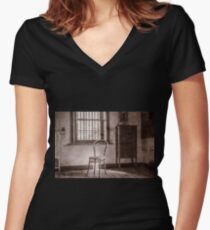 Chair Women's Fitted V-Neck T-Shirt