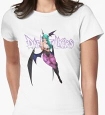 Morrigan Aensland Womens Fitted T-Shirt