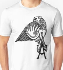 Buffy- angel's tattoo (black) Unisex T-Shirt