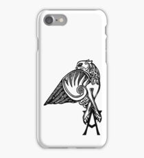 Buffy- angel's tattoo (black) iPhone Case/Skin