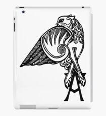 Buffy- angel's tattoo (black) iPad Case/Skin