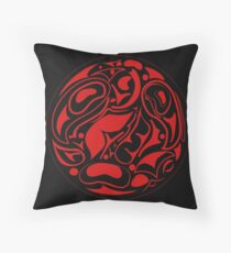 abstract indigenous ornament Throw Pillow