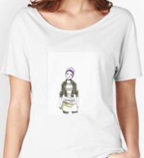 Violet Women's Relaxed Fit T-Shirt