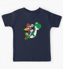 Mario und Yoshi Kinder T-Shirt