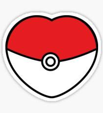 POKEBOLA HEART POKEMON GO Sticker