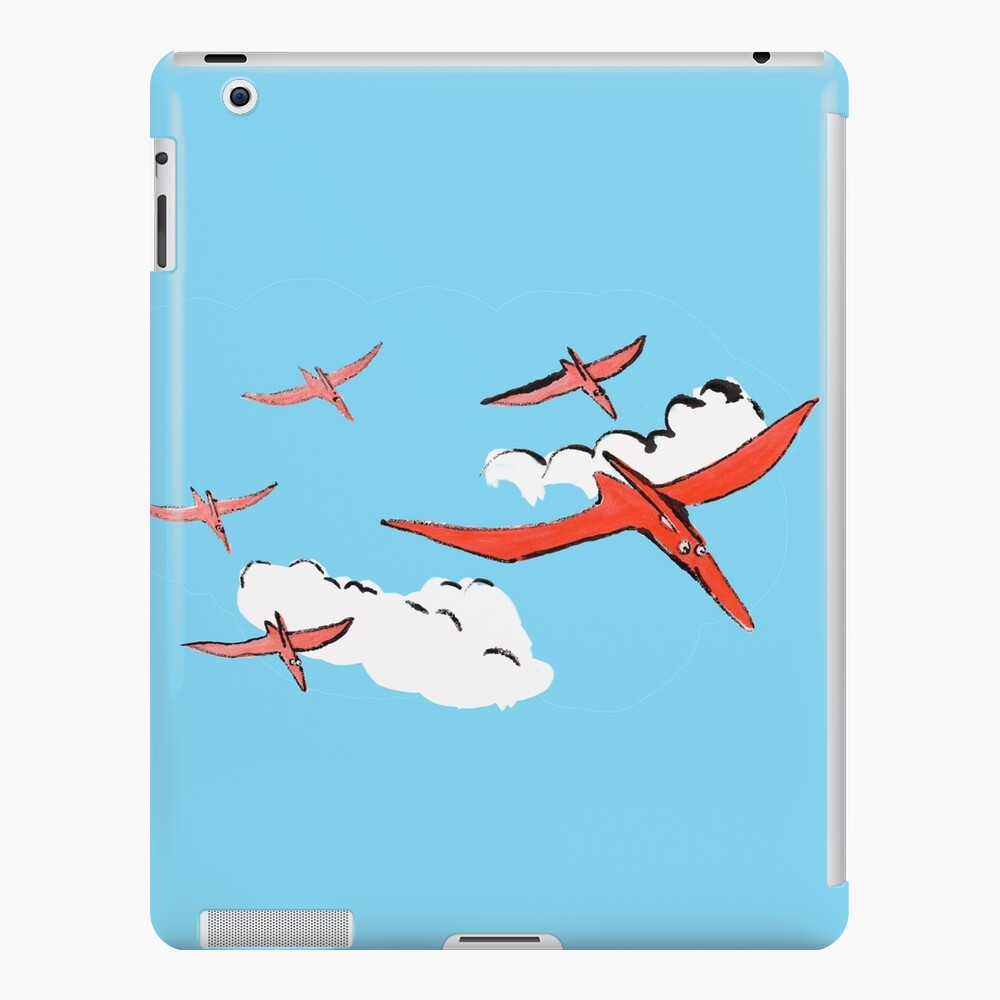 Pterodactyl Flying Squadron iPad Case & Skin