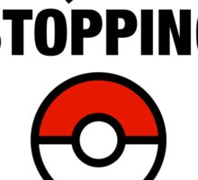 Pokemon Go Nerd Frequently Stopping Sticker