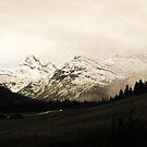 Lechtal Alps by heinrich