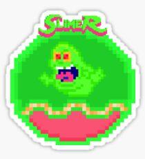 """""""I've Been Slimed"""" Pixels Sticker"""