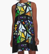 Triangles A-Line Dress