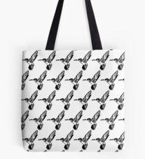 HUMMINGBIRD - BLACK AND WHITE Tote Bag