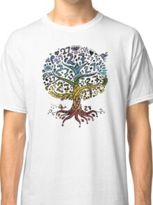 Floral tree beautiful, summer Classic T-Shirt