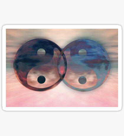 Yin Yang Balance Sticker