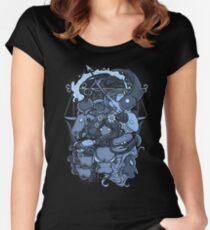 Core Art No.6 Women's Fitted Scoop T-Shirt