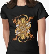 Core Art No.10 Womens Fitted T-Shirt