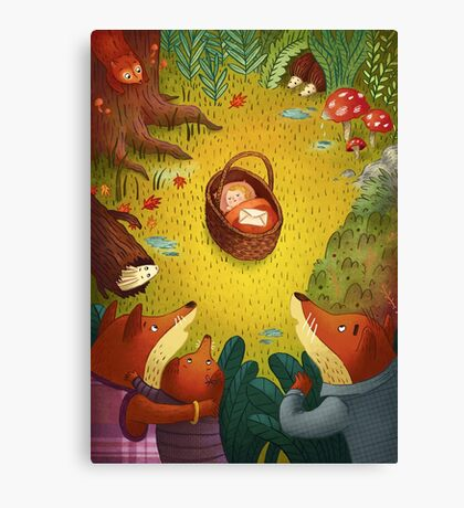The Mystery Baby Canvas Print