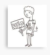 Bootleg Boy/Day 229 Canvas Print