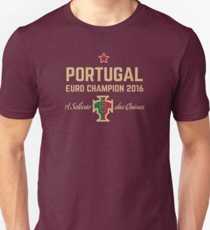 Portugal Euro 2016 Champions T-Shirts etc. ID-1 T-Shirt