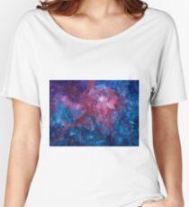 Galaxy Women's Relaxed Fit T-Shirt