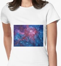 Galaxy Women's Fitted T-Shirt