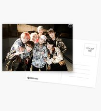 BTS/Bangtan Sonyeondan - Fire Group Photo Postcards