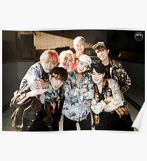 BTS/Bangtan Sonyeondan - Fire Group Photo Poster