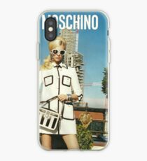 MOSCHINO COVER SHOOT VOGUE SPREAD 2013 iPhone Case