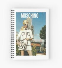 MOSCHINO COVER SHOOT VOGUE SPREAD 2013 Spiral Notebook