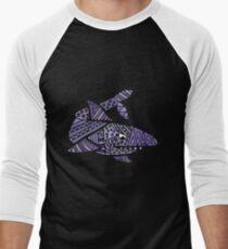 Cool Artistic Blue Shark Patterns Abstract T-Shirt