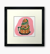 Tinsel Dalek Framed Print