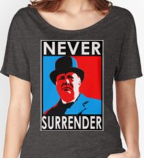 NEVER SURRENDER Women's Relaxed Fit T-Shirt