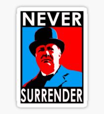 NEVER SURRENDER Sticker