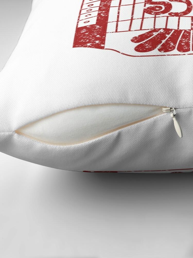 Alternate view of Toltec Eagle Throw Pillow