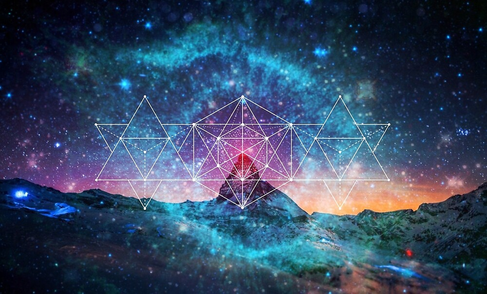 Quot Sacred Geometry Space Triplet Quot By Futurethinkers