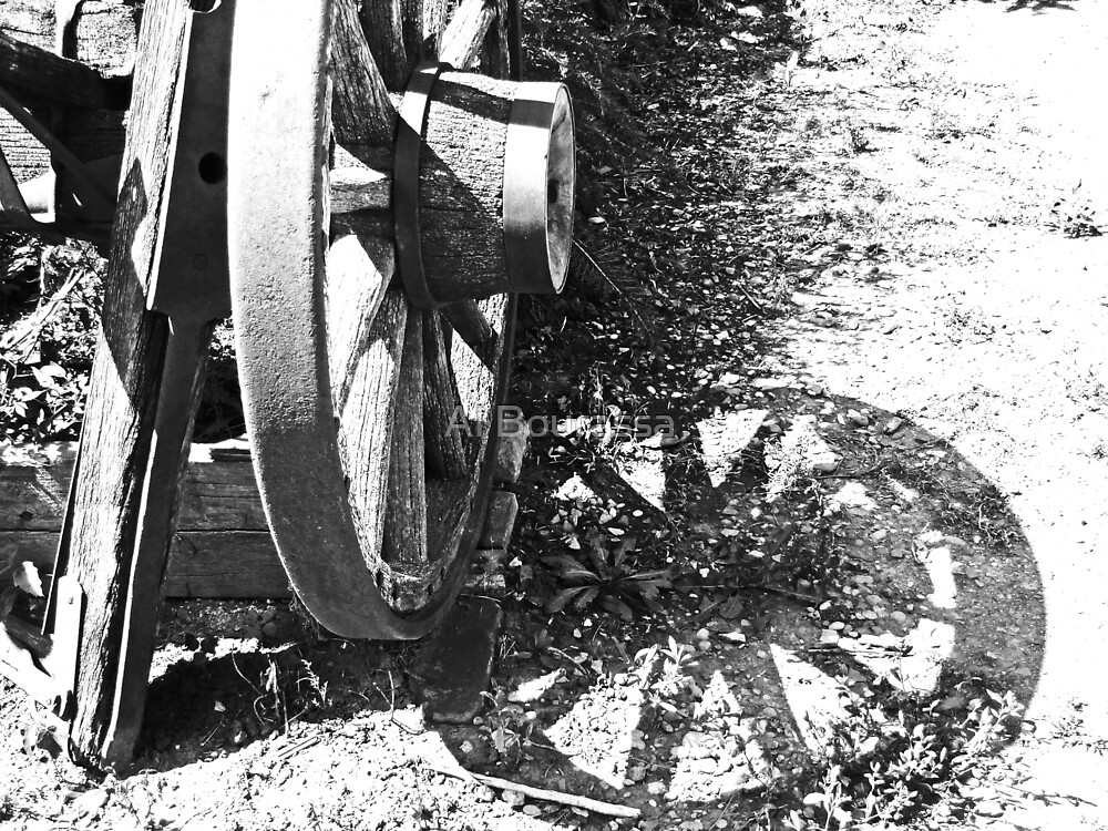 Wagon Wheel V by Al Bourassa