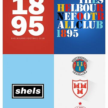 SHELBOURNE FC COLLAGE - PRINT by 1895Trust