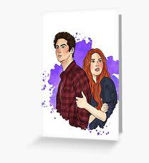 Stiles & Lydia / Teen Wolf Greeting Card