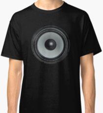 Black Speaker Classic T-Shirt