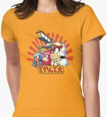 Samurai Pizza Caaaats! Women's Fitted T-Shirt