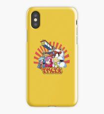 Samurai Pizza Caaaats! iPhone Case/Skin