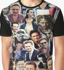 Tom Hiddleston collage Graphic T-Shirt